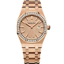 AUDEMARS PIGUET ROYAL OAK LADIES ROSE GOLD