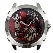 JACOB & CO. GRAFFITTI COLLECTION STAINLESS STEEL