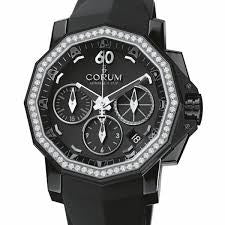 CORUM ADMIRAL'S CUP COMPETITION 40 STEEL PVD