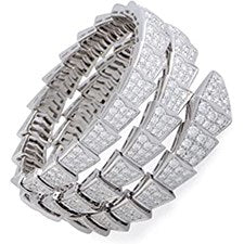 BVLGARI SERPENTI BRACELET WHITE GOLD
