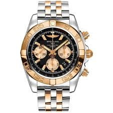 BREITLING CHRONOMAT CHRONOGRAPH STEEL AND ROSE GOLD