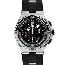 BVLGARI X-PRO CHRONOGRAPH GMT STAINLESS STEEL