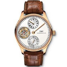 IWC PORTUGUESE REGULATOR TOURBILLON ROSE GOLD