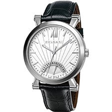 BVLGARI SOTIRIO RETROGRADE STAINLESS STEEL