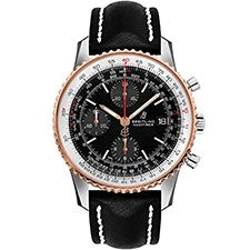 BREITLING NAVITIMER 1 STEEL AND ROSE GOLD