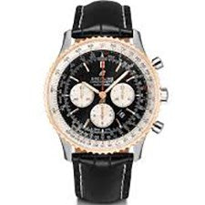 BREITLING NAVITIMER STEEL AND ROSE GOLD