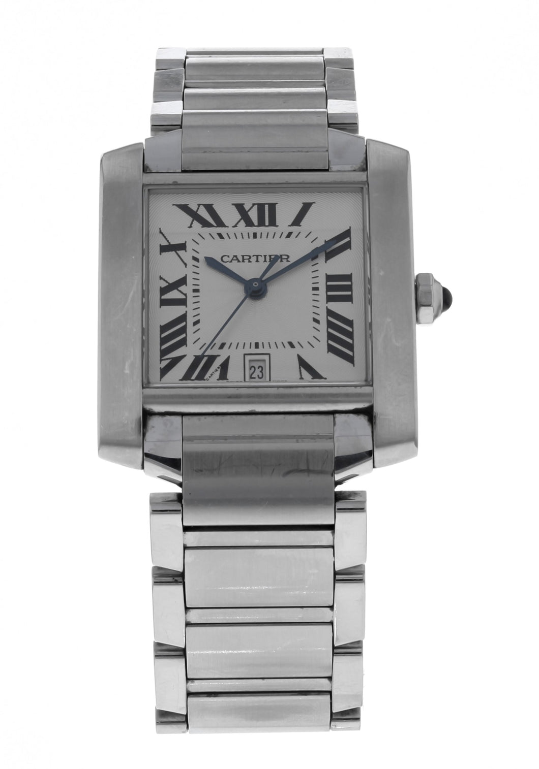 Cartier Tank Francaise Stainless Steel Automatic Men's Watch 2302