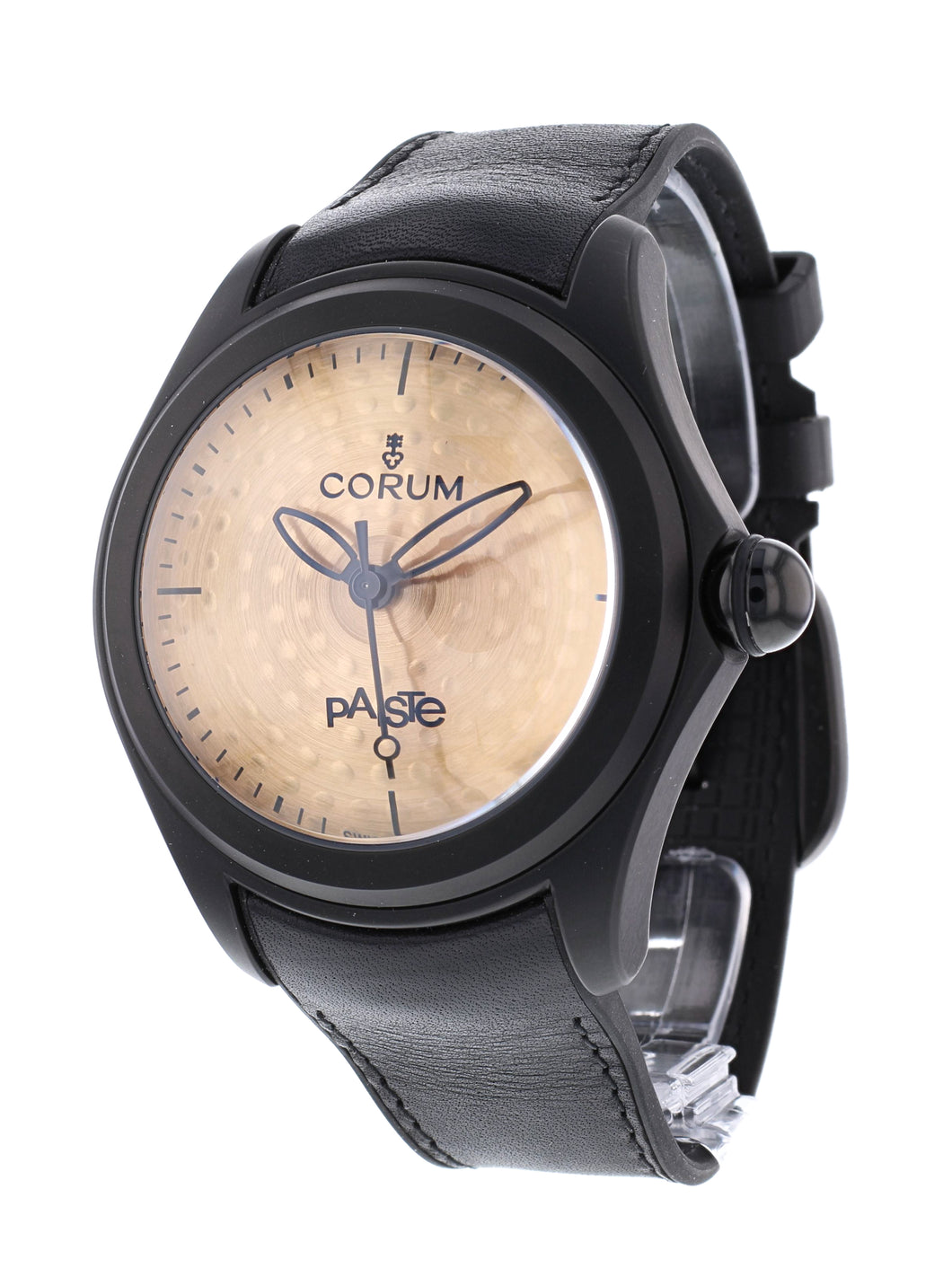 Corum Bubble Paiste Bronze Drum Cymbal Dial Men's 47mm Limited Edition Watch