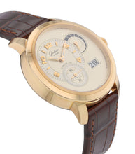 Glashutte Original PanoMatic Reserve XL 18k Rose Gold 42mm Automatic Men's Watch
