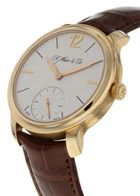 H. Moser & Cie Mayu Manual Wind Rose Gold Mens Strap Power-Reserve Watch 321.503