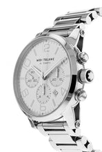 Montblanc Timewalker Silver Dial Steel Case Chronograph Men's 43mm Watch 9669