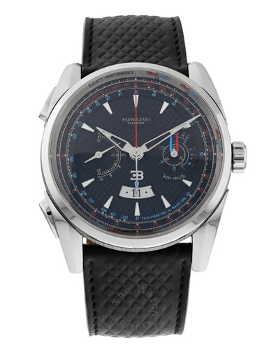 Parmigiani Bugatti Aerolithe Flyback Chronograph Automatic 41mm Men's Watch
