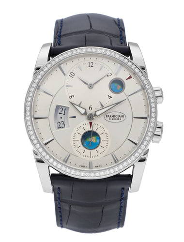 Parmigiani Tonda Hemispheres Diamond Men's 42mm Watch PFC231-0060700-XA3142