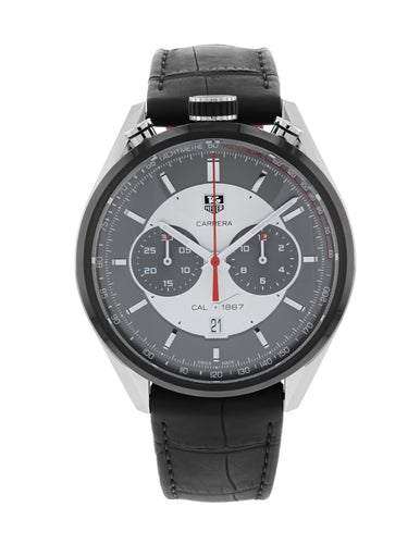 Tag Heuer Carrera Chronograph Calibre 1887 Jack Heuer Edition Men's 45mm Watch