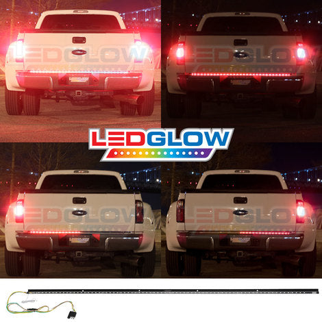 Ledglow lu tk lb 60 r1 60 inch full size truck red led tailgate ledglow lu tk lb 60 r1 60 inch full size truck red led tailgate light factory direct car audio aloadofball Image collections