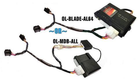 Omega OL-HRN-RS- Plug-and-Play T-Harnesses for Remote Start ... passlock bypass diagram Factory Direct Car Audio