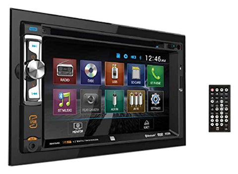 Dual XDVD256BT Double-Din Receiver with Bluetooth on