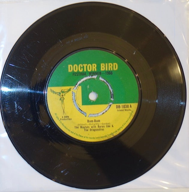 "The Maytals With Byron Lee & The Dragonaires - Bam-Bam / So Mad In Love 7"" - Doctor Bird"