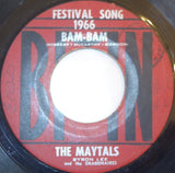 "The Maytals With Byron Lee & The Dragonaires - Bam-Bam / So Mad In Love 7"" - BMN"