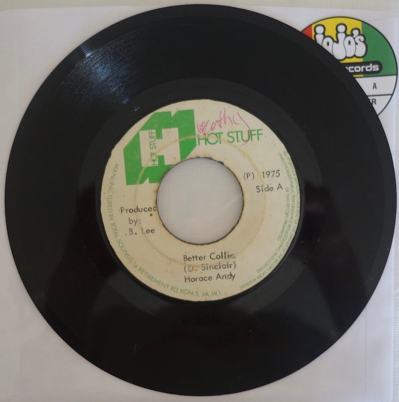"Horace Andy / Prince Phillips ‎– Better Collie / A Kori Kong Version 7"" - Hot Stuff"