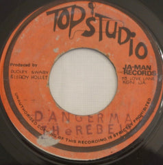 "The Rebels ‎– Dangerman / Dangerman Version 7"" - Top Studio"