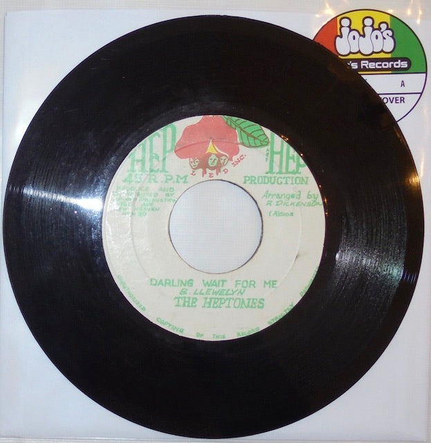 "The Heptones ‎– Darling Wait For Me / Version 7"" - Hep Hep"