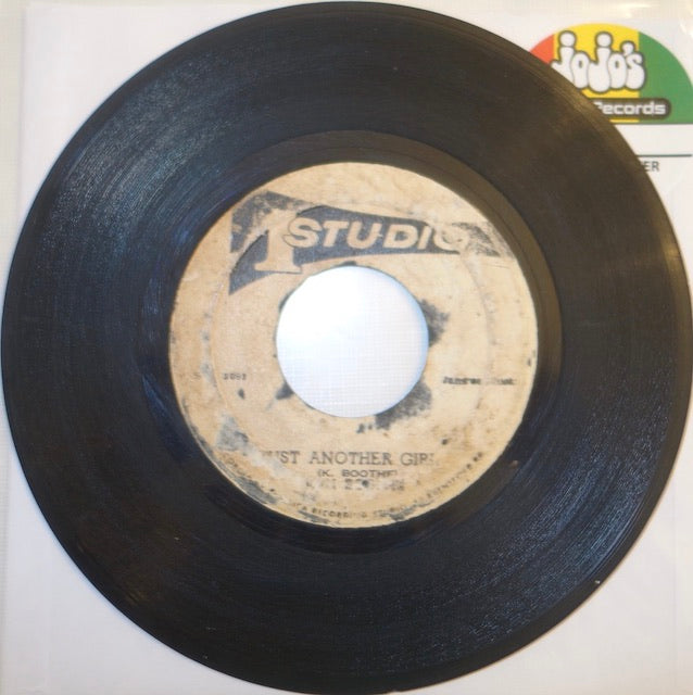 "Ken Boothe / J Newton ‎– Just Another Girl / Fooling You 7"" - Studio One"
