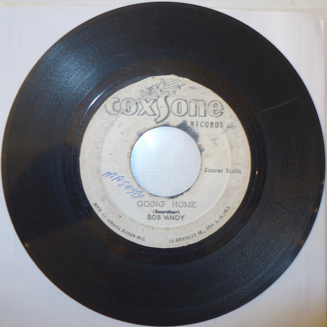 "Bob Andy - Going Home / Straight Flush 7"" - Coxsone"