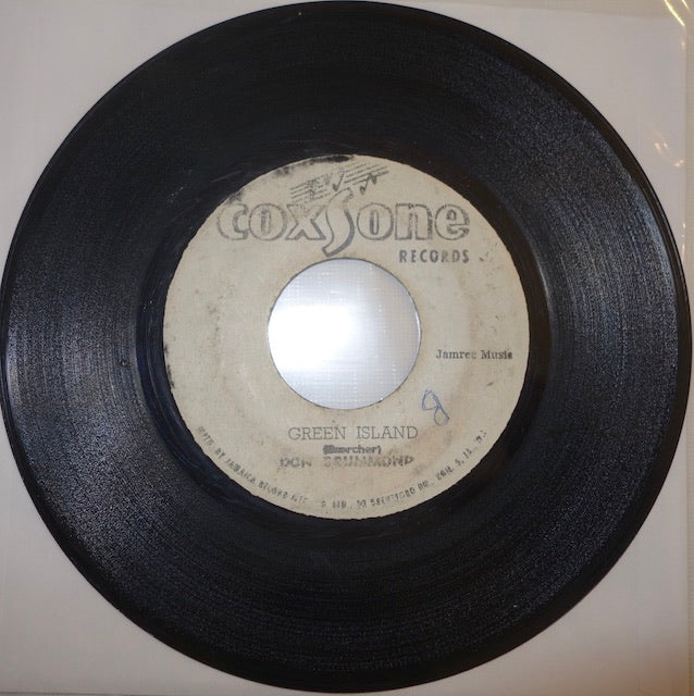 "Don Drummond ‎– Green Island / Kennedy's Grave AKA Jack Ruby Bound To Die 7"" - Coxsone"