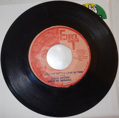 "Dennis Brown ‎– I Hope We Get To Love In Time / Timely Lover 7"" - Errol T"