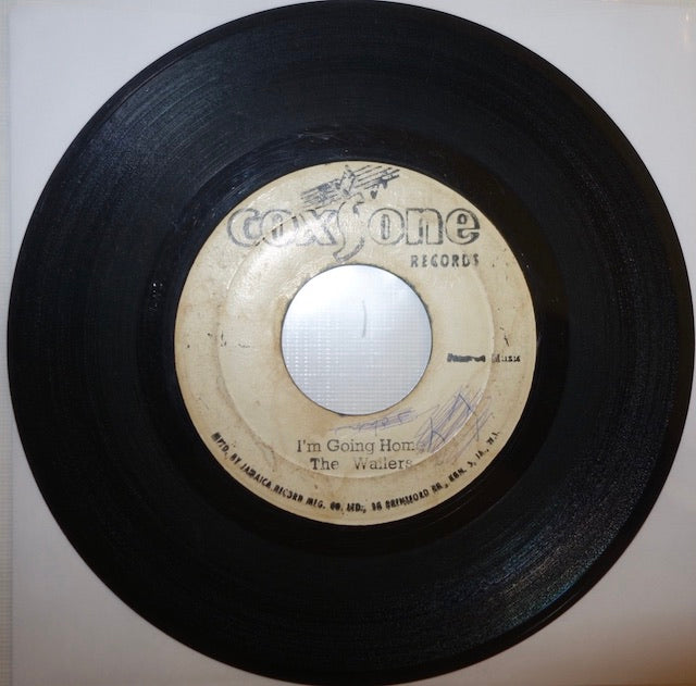 "The Wailers ‎– I'm Going Home / It Hurts To Be Alone 7"" - Coxsone"