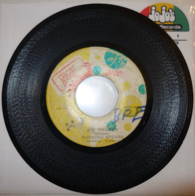 "Burning Spears & Morris Toughest ‎– Joe Frazier / Version of Love 7"" - Iron Side"