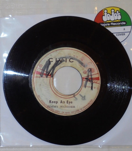 "Jimmy Wonder ‎– When Will We Be Paid / Keep An Eye 7"" - Civic"