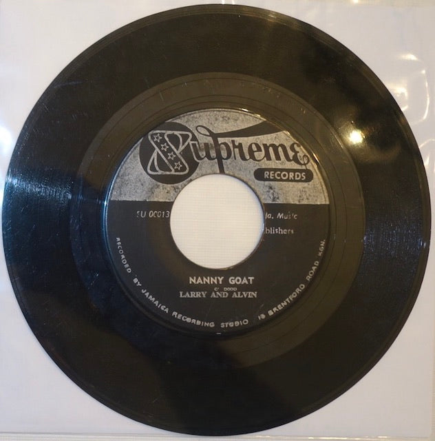 "Larry and Alvin - Nanny Goat / Wepp 7"" - Supreme"