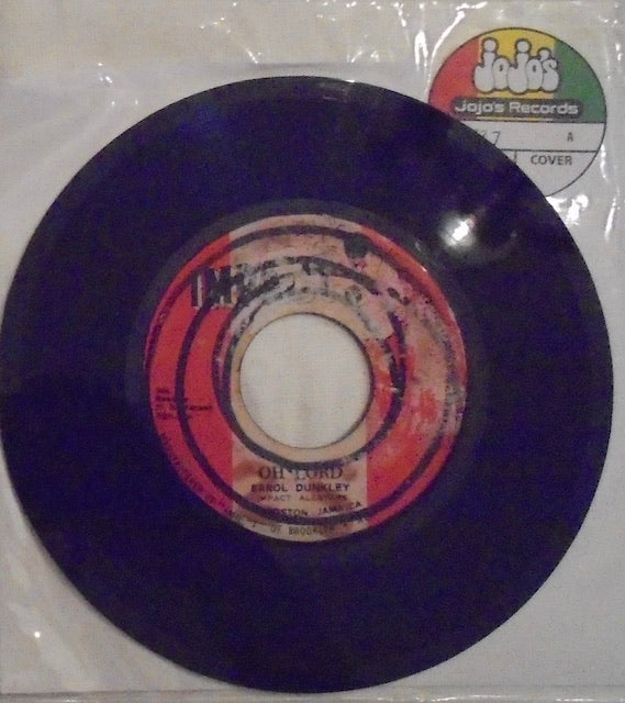 "Errol Dunkley With Impact Allstars ‎– Oh Lord / Version 7"" - Impact"