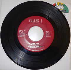 "Howard Ricketts / N.Y.R.S. ‎– One Try / Instrumental 7"" - Class I"