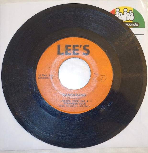 "Lester Sterling & Stranger Cole ‎– Bangarang / Someone To Love 7"" - Lee's"