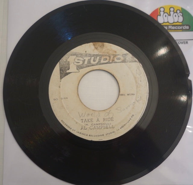 "Al Campbell ‎– Take A Ride / Version 7"" - Studio One"