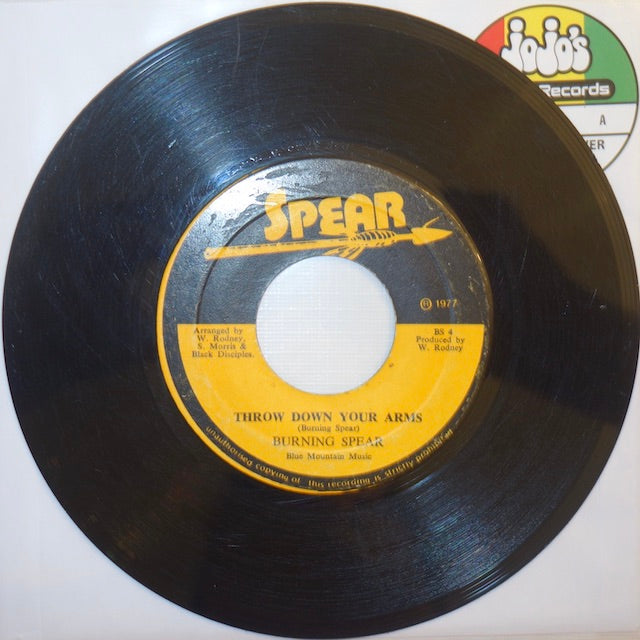 "Burning Spear ‎– Throw Down Your Arms / I Long To See You 7"" - Spear"