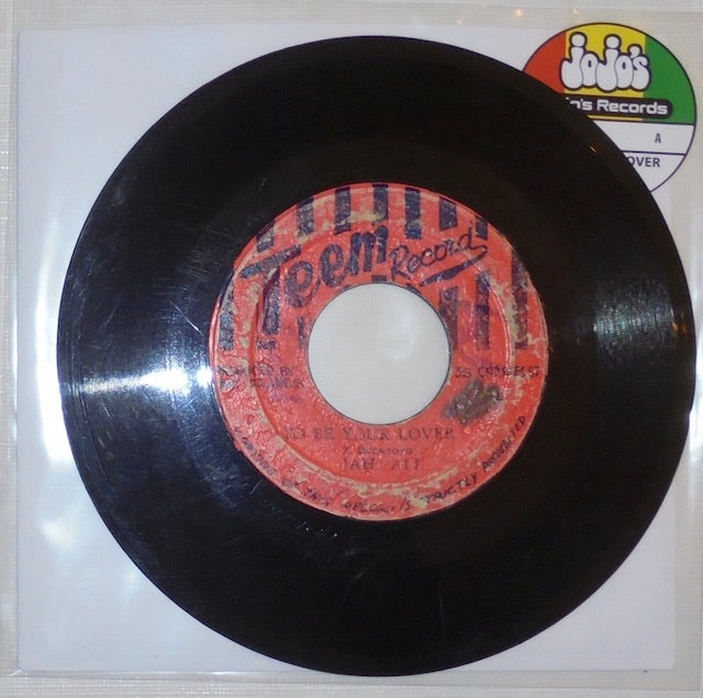"Jah Ali ‎– To Be Your Lover / Lovers Version 7"" - Teem"
