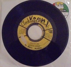 "Burning Spear ‎– Traveling / Walking 7"" - Clocktower"