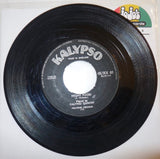 "Calypso Quintet & Bedasse ‎– Walk And Talk / Night Food 7"" - Kalypso"
