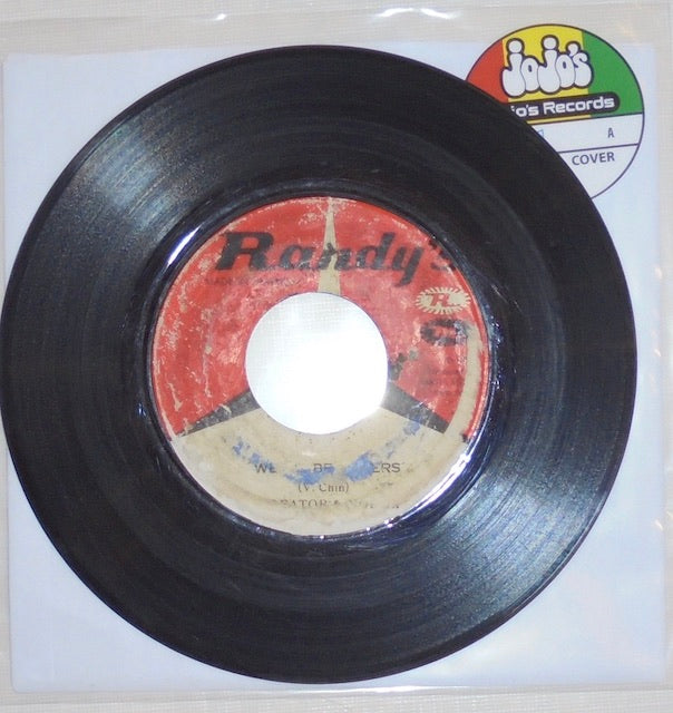 "Creator And Norma ‎– We Will Be Lovers / Come On Baby 7"" - Randy's"