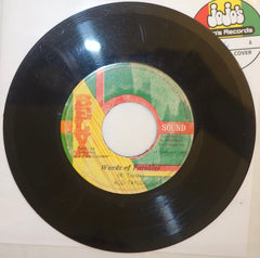 "Rod Taylor ‎– Words Of Parables / Version 7"" - Belva Sound"