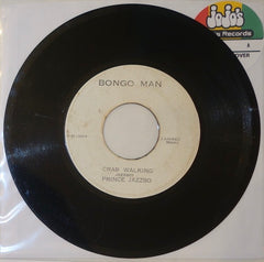 "Prince Jazzbo ‎– Crab Walking / Sky Rhythm 7"" - Bongo Man"