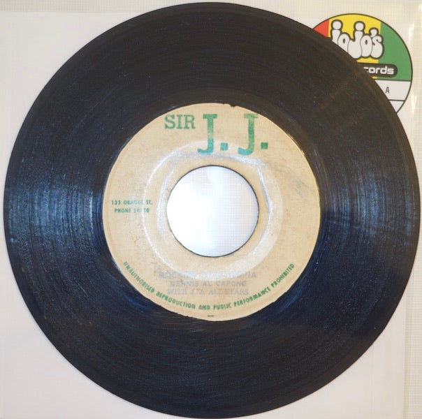 "Dennis Al Capone With J. J. All-Stars ‎– Rocking To Ethiopia / Selah Version 4 7"" - Sir J.J."