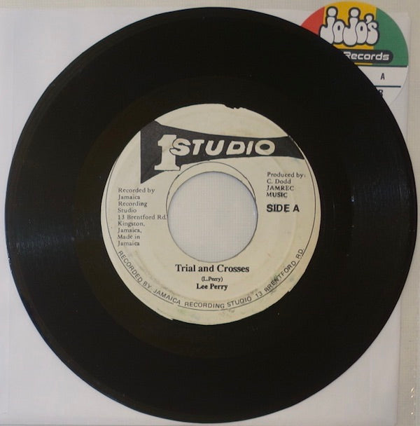"Lee Perry / Lord Tanamo ‎– Trial And Crosses / Keep On Grooving 7"" - Studio One"