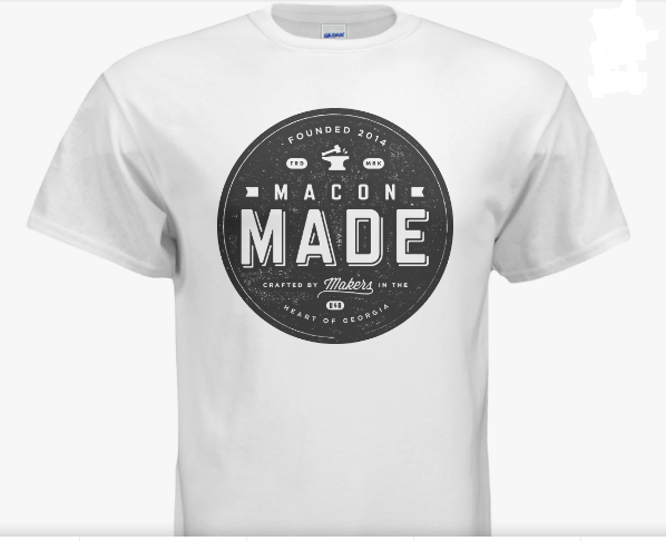 Macon Made Big Logo T