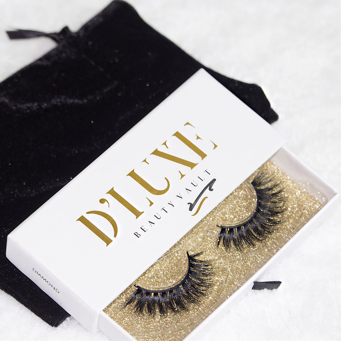 Our Signature 3d Luxury Mink Eyelash Collection Dluxe Beauty Vault