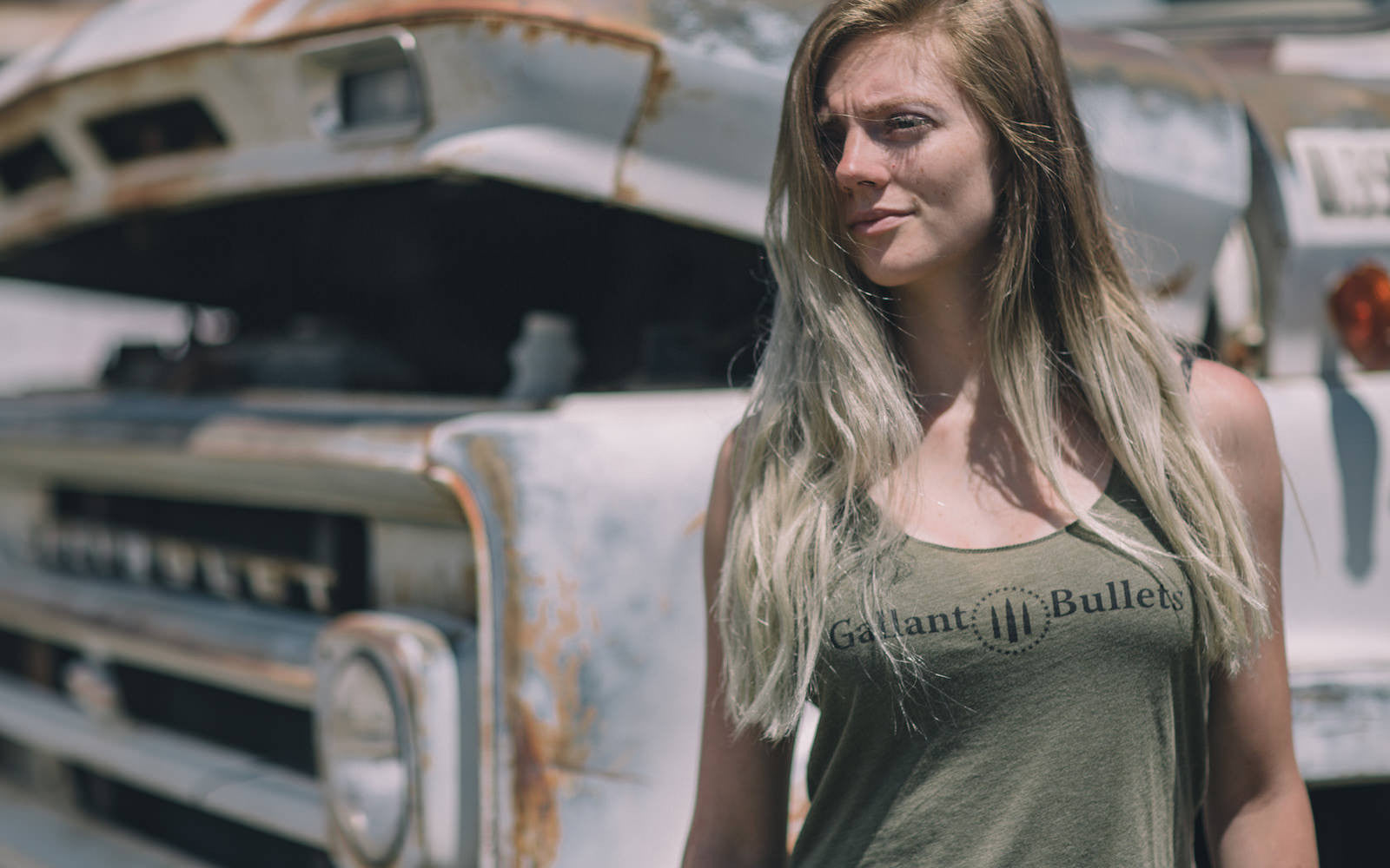 Women's Tank Top by Gallant Bullets